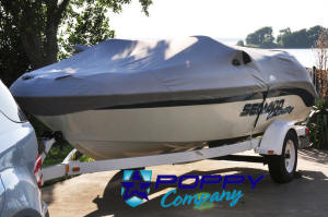 Details about 1997-2004 Challenger 1800 Seadoo Boat Cover Fitted New  Trailerable Grey