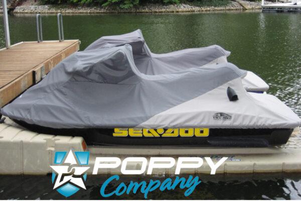 Poppy Seadoo Cover Charcoal/Lt Grey