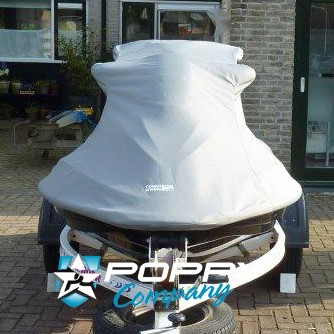 Poppy Company Charcoal/Black Seadoo Covers