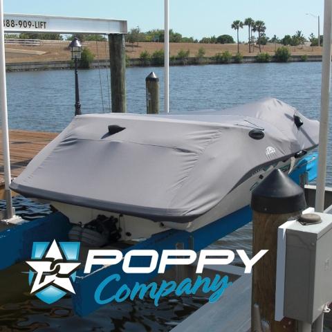 """Poppy Seadoo Boat Cover 14'-6"""""""