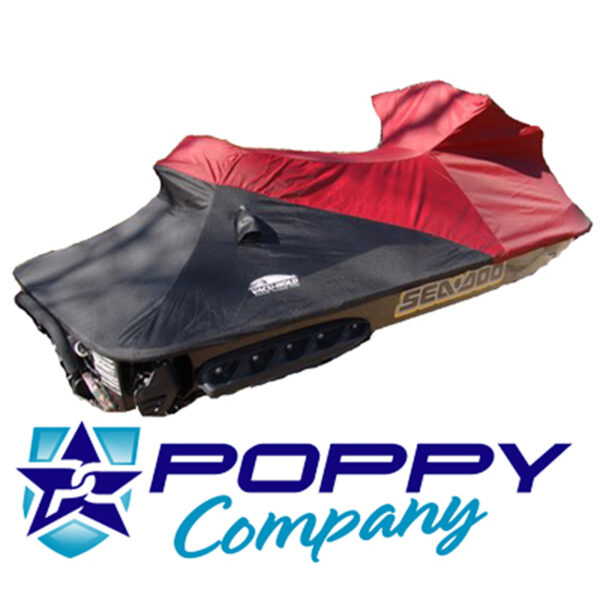 poppy Seadoo Burgundy/Black Cover