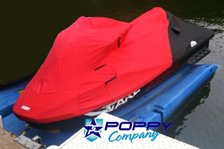 Poppy Seadoo Cover Red/Black
